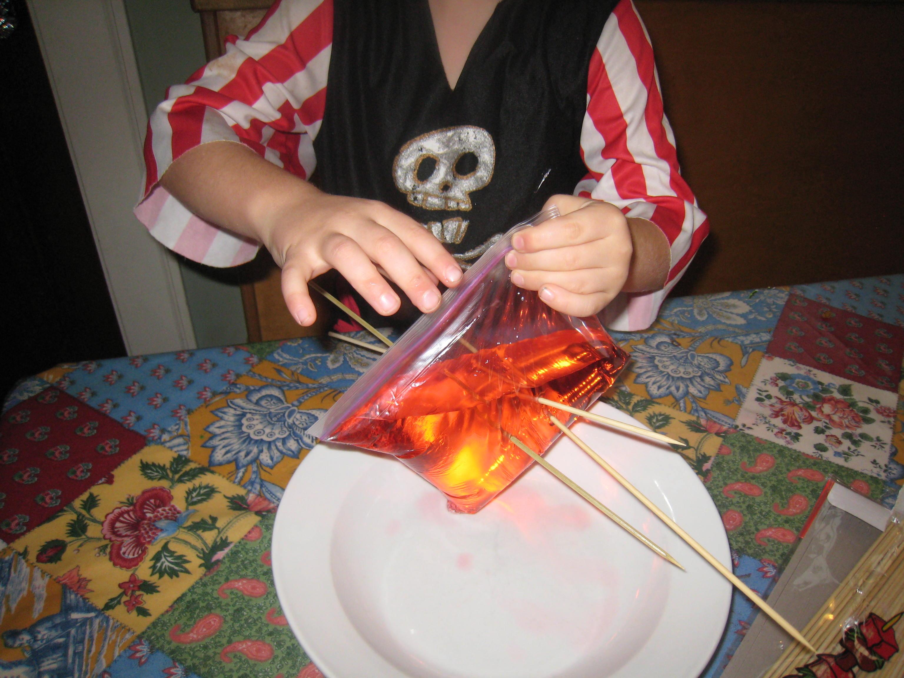 Science Magic Bag Of Blood