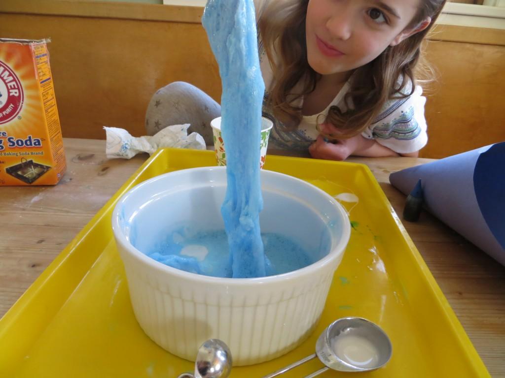 Foaming Slime Monster- KitchenPantryScientist.com