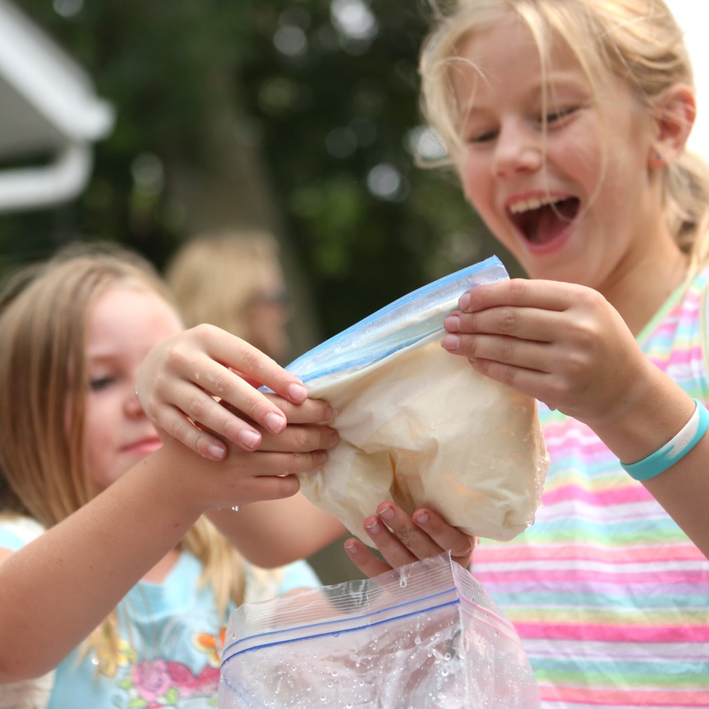 Enjoy eating your frozen experiment! (From Outdoor Science Lab for Kids-Quarry Books 2016)