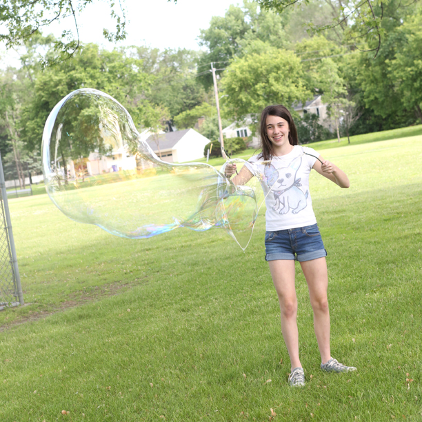 Giant Bubbles (from Outdoor Science Lab for Kids- Quarry Books 2016)